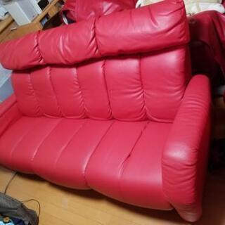 現在も店で35万1千円販売中のソファー2点セット 3人掛 1人掛