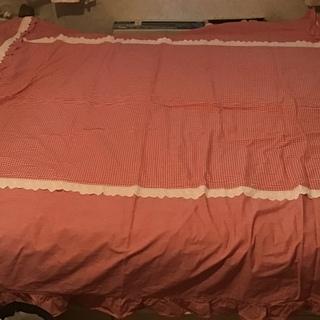 掛け布団カバー 件ベッドカバー