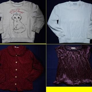 子供服 女児 120サイズ 4着セット(価格は4着セットの価格で...