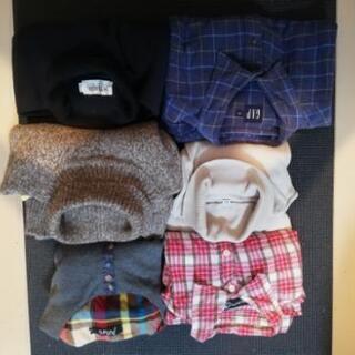 セーター・シャツ6着まとめて