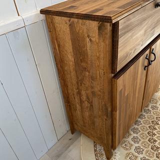キッチンカウンター C サイズ変更 可能 レンジ 炊飯器 食器棚 収納 ラック - 売ります・あげます