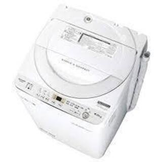 シャープ ES-GE6C-W 全自動洗濯機 (洗濯6.0kg) ...