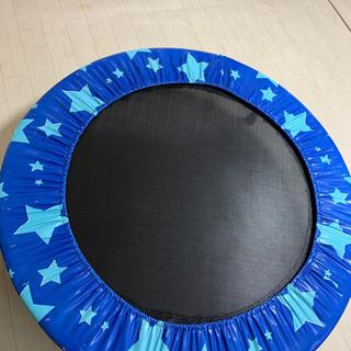 トランポリン 星柄 ブルー