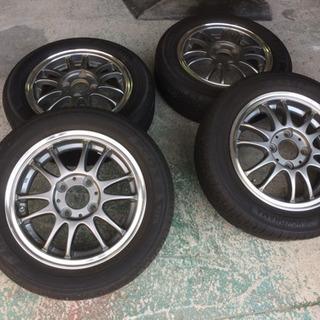 13インチ タイヤホイール 155/65R13 タイヤ新品並み