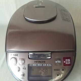 日立 圧力IH炊飯器 5.5合 RZ-A10KSM(T) 2016年製