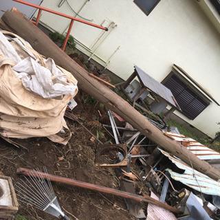 長さ450cm 建材 丸太 松 古民家 古材 梁 見せ梁