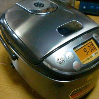 象印IH豪熱沸騰炊飯ジャー3合炊き(NP-GF05)中古14年製