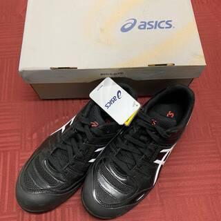 【ASICS】安全靴 ウィンジョブ FCP103-9001 黒・...