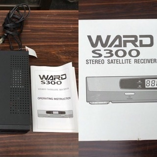 STEREO SATELLITE RECEIVER WARD(ワ...