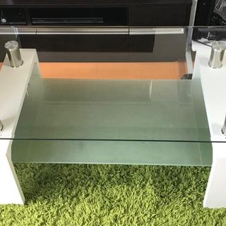 強化ガラス ローテーブル