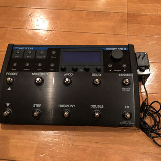 TC-HELICON VOICELIVE2 説明書付き