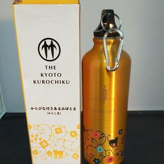 未使用京都東急ホテル限定非売品舞妓柄かわいいゴールド水筒