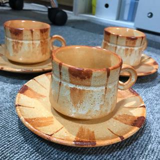 コーヒーカップ3組