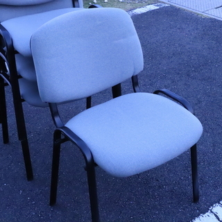 ミーティングチェア 椅子 4脚まとめて