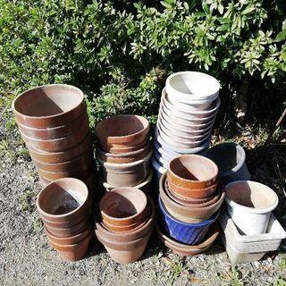 ジャンク 大量植木鉢、プランター