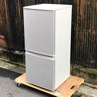 シャープ 2ドア冷蔵庫 SJ−D14A-S