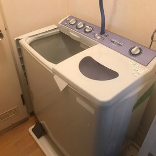 出ました!強力洗浄の二層式洗濯機!2010年製 東芝 メーカー物