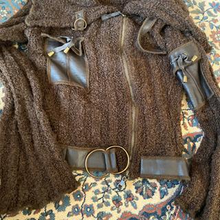 フランス製のニットジャケット