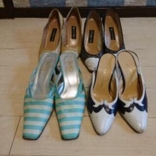 様々なブランドの靴