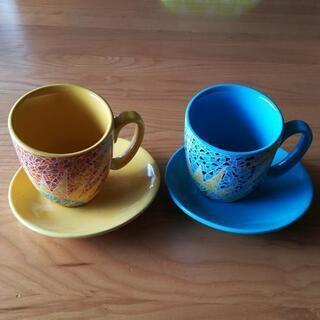 ペアコーヒーカップ