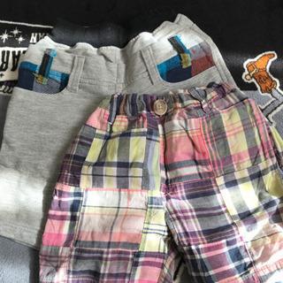 80サイズ2枚95.110.100半ズボン
