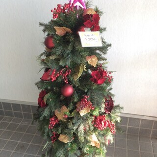 【値下げ】2,000円 クリスマスツリー 120cm 飾り付き