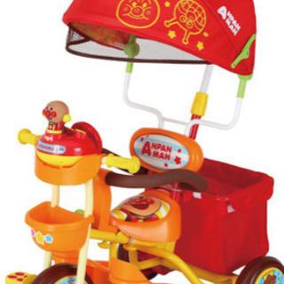 アンパンマン  三輪車 アンパンマン デラックス2 オレンジ