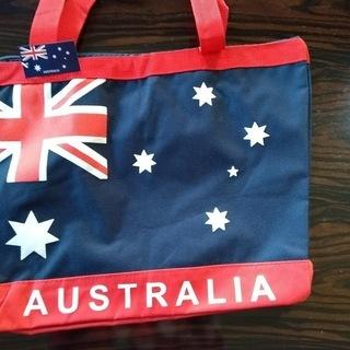 オーストラリアのお土産 ショルダーバッグ(ファスナー付き)