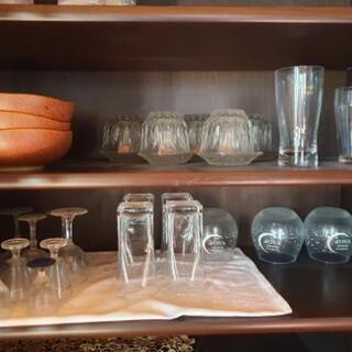 お皿、グラス、もらってください!