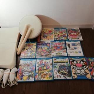 (商談中)まとめてWii、Wii U、太鼓、フィットU、ソフト