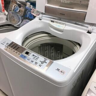 日立9.0K DDモーター洗濯機2014年製DDモーター新品交換...