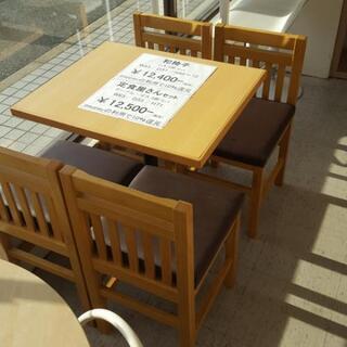 定食屋さんセット 椅子4脚セット