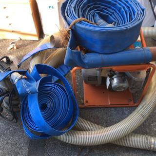 ツルミ 水中ポンプ エンジンポンプ ホースセット