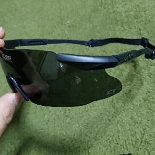 【サングラス】ブラック メガネ ミルスペック サバゲー フィッシ...