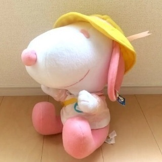タグ付非売品◆スヌーピーぬいぐるみ大サイズ32cm 幼稚園保育園...