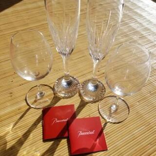 BACCARAT ワイングラス、シャンパングラス