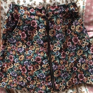 ゴブラン 台形スカート