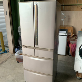 YHU02 2008年製 HITACHI 冷凍冷蔵庫 545ℓ
