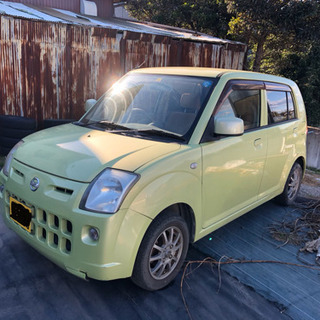 19年 56000キロ 日産 ピノ 車検付き!