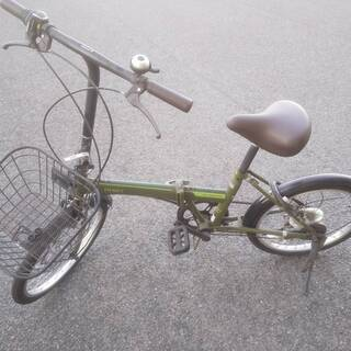 【値下げしました!】折りたたみ自転車