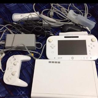 Wii U 本体セット 動作品 8GB コントローラセット すぐ...