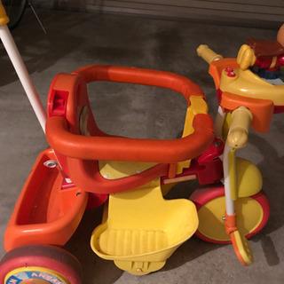 アンパンマン補助付三輪車
