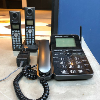 「値引き」電話機/ブラック/親機子機2台セット