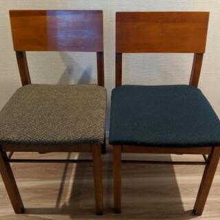 conte-Lime chair fabric 椅子2脚セット