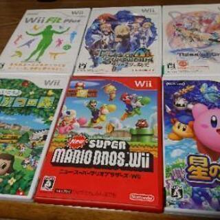 【500円値下げ】Wiiソフト 6本