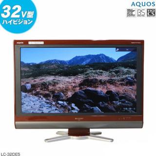 シャープ 32V型 液晶テレビ RED