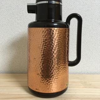 【レトロ】 ヨット魔法瓶 1ℓ LUPUS 純銅ミラー
