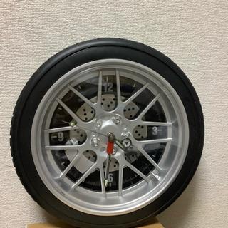 取り引き中タイヤ型 時計