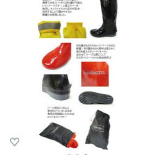 j-collective パッカブルレインブーツ 長靴