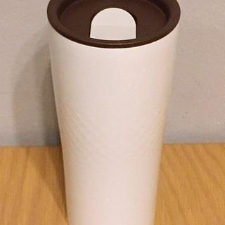 カインズ 魔法のタンブラー セラミックマーブル 430ml ホワイト